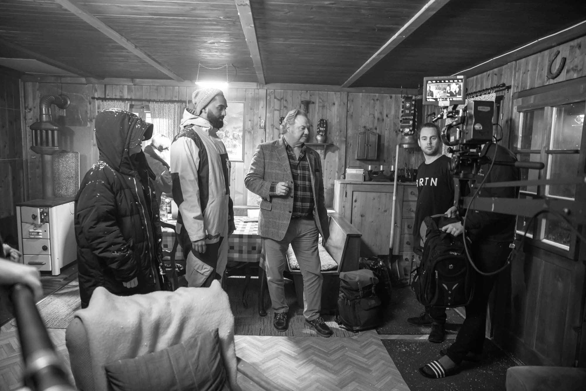 Alpine Getaway (Maiensäss) Behind the Scenes